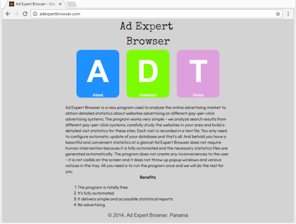 remove Ad Expert Browser virus
