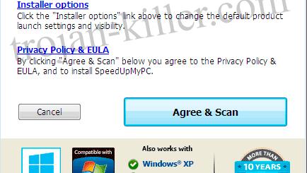 Remove SpeedUpMyPC virus