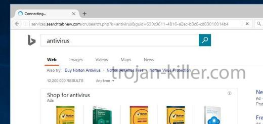 services.searchtabnew.com-virus browser hijacker