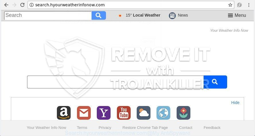 remove Search.hyourweatherinfonow.com virus