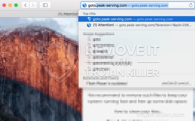 remove Goto.peak-serving.com virus