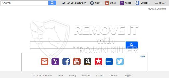 remove Search.hyourfastemailnow.com virus
