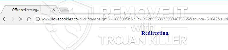 remove Ilovecookies.co virus