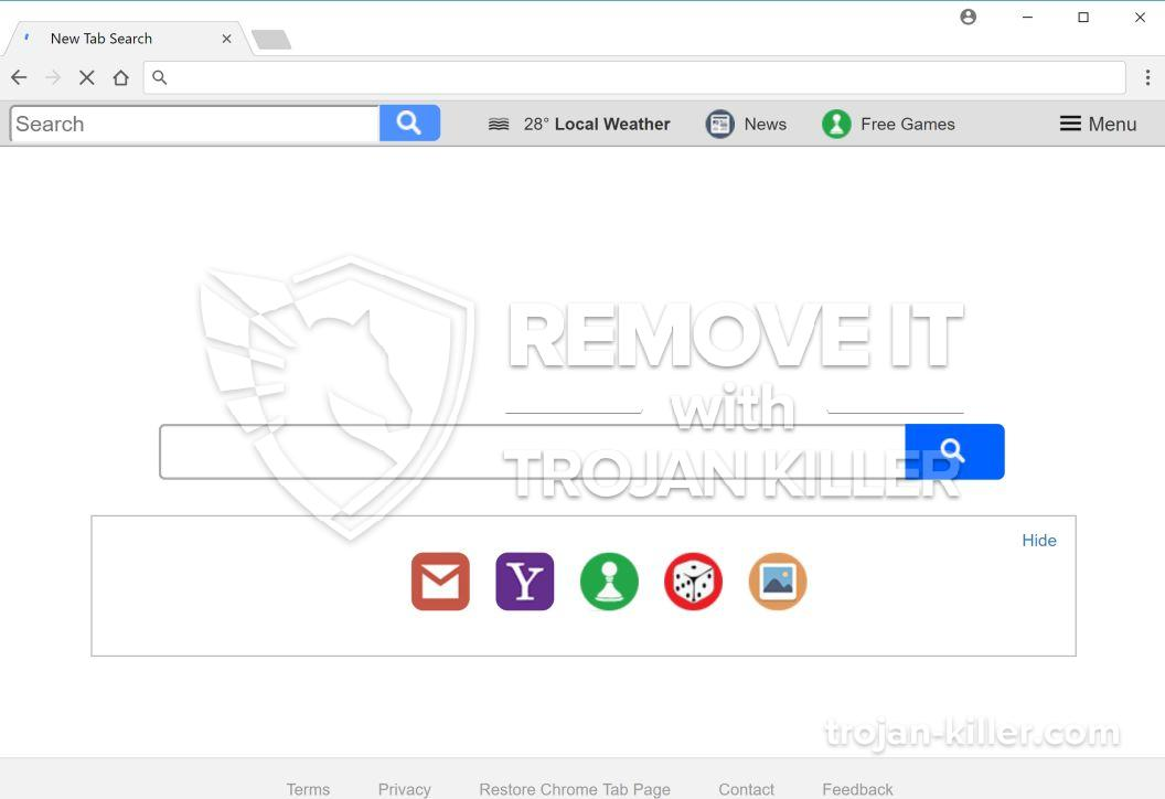 remove Search.yourfreeonlineforms.com virus