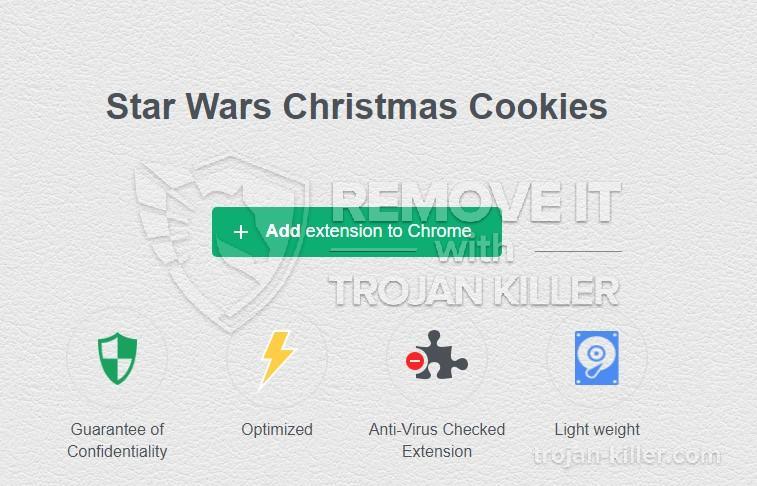 remove Star Wars Christmas Cookies virus