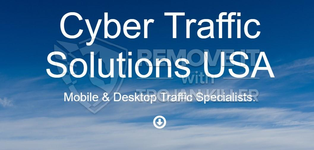 remove Cybertrafficsolutions.com virus
