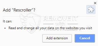 remove Rescroller virus