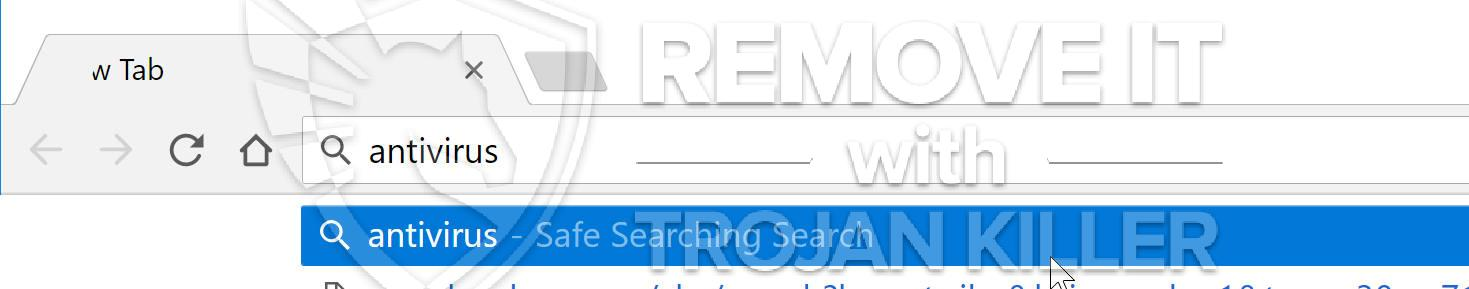 remove Safe Searching Search virus