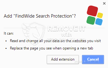 remove FindWide Search Protection virus