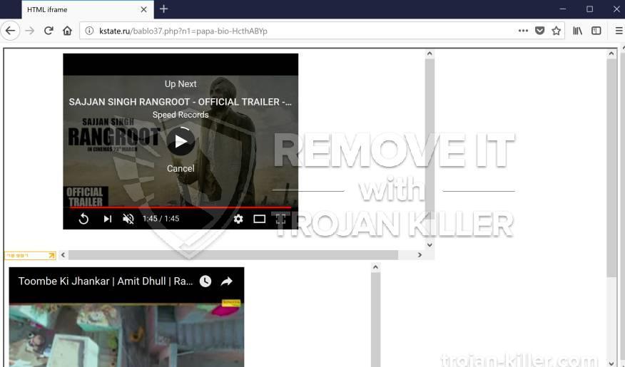 remove Kstate.ru virus