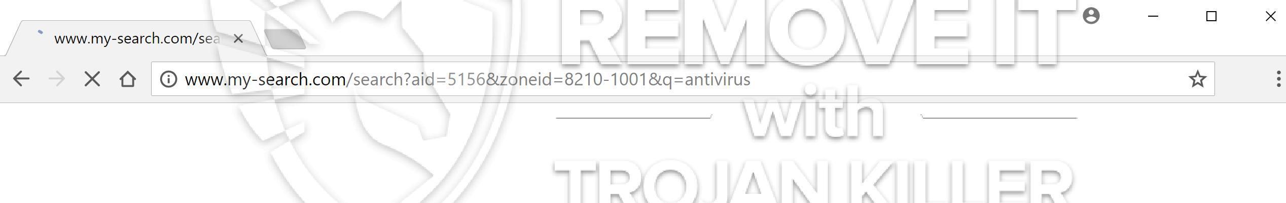 remove My-search.com virus