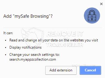 remove mySafe Browsing virus