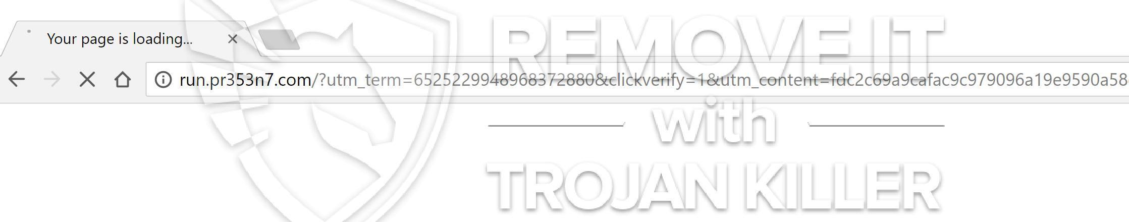 remove Run.pr353n7.com virus