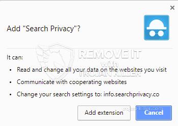 remove Search Privacy virus