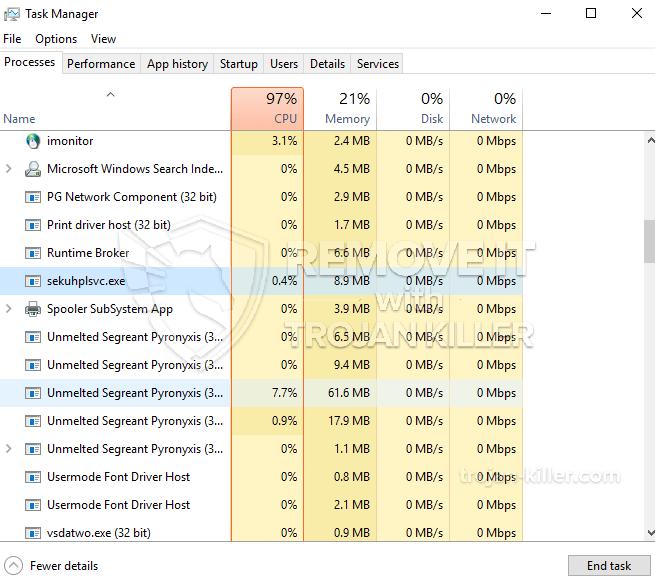 remove Sekuhplsvc.exe virus