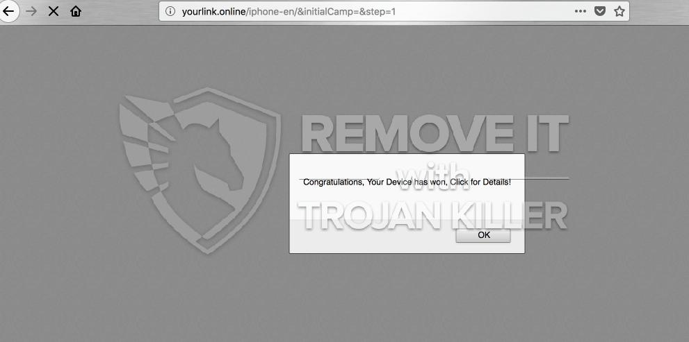 remove Yourlink.online virus