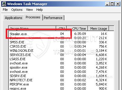 remove Stealer.exe virus