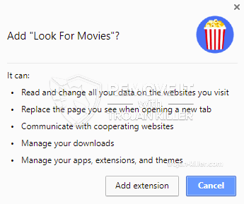 remove Look For Movies virus
