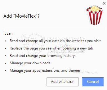 remove MovieFlex virus