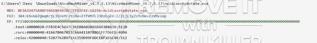 remove nvidiasetp0state.exe virus