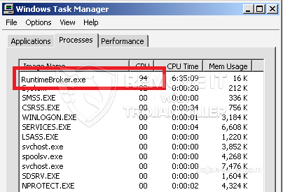 what is runtime broker.exe