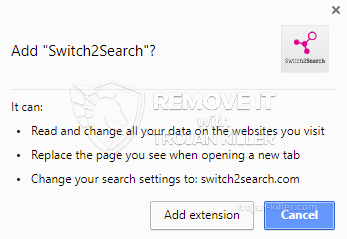 remove Switch2Search virus