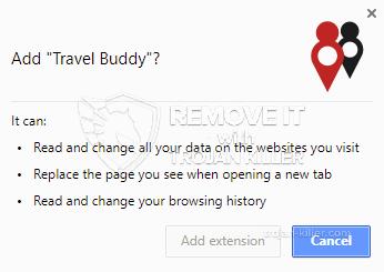 remove Travel Buddy virus