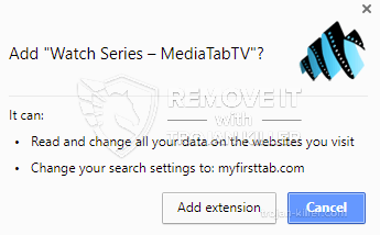 remove Watch Series – MediaTabTV virus