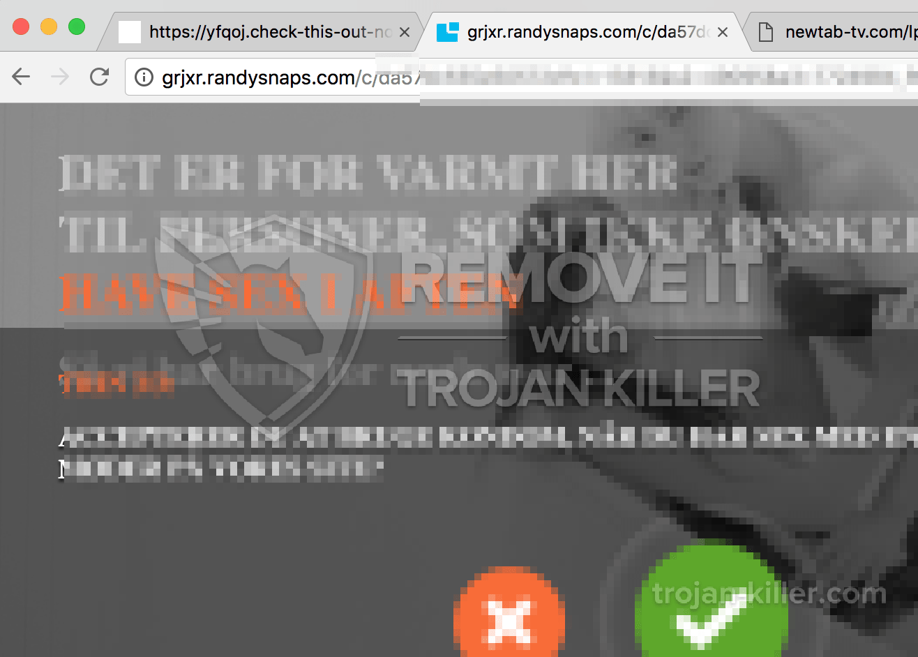Software to remove porn