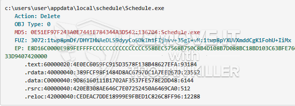 remove Schedule.exe virus