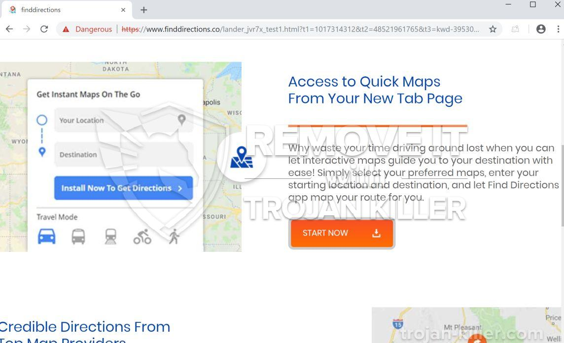 remove FindDirections.co virus