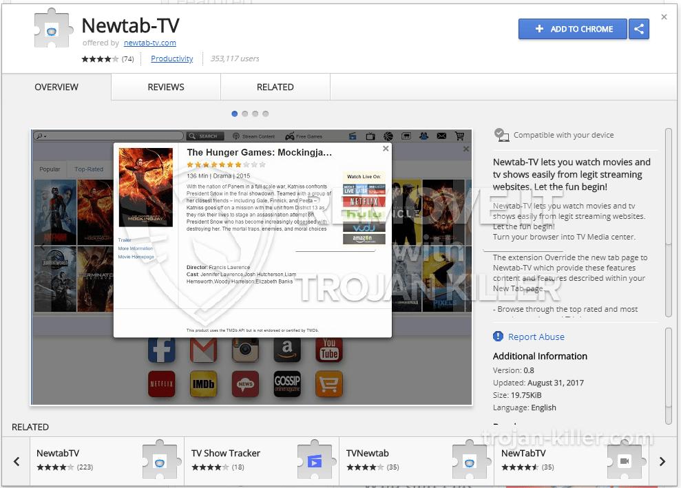 remove newtab-tv.com virus