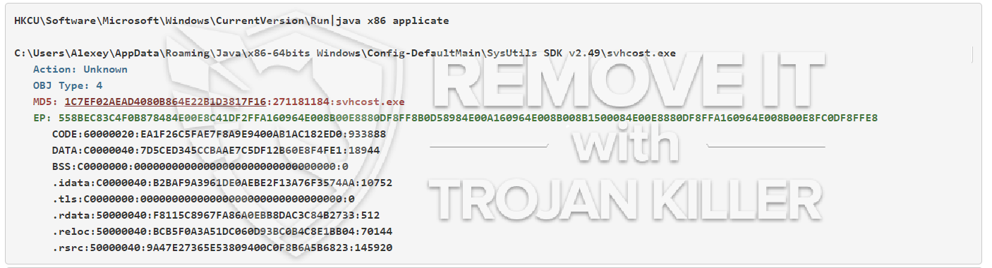 remove Svhcost.exe virus