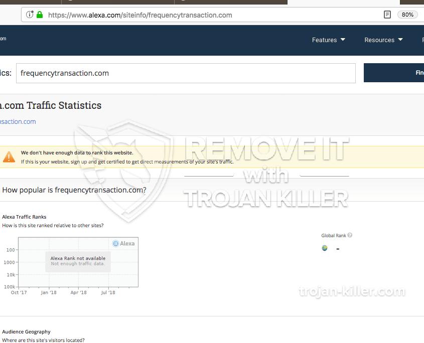 remove Frequencytransaction.com virus