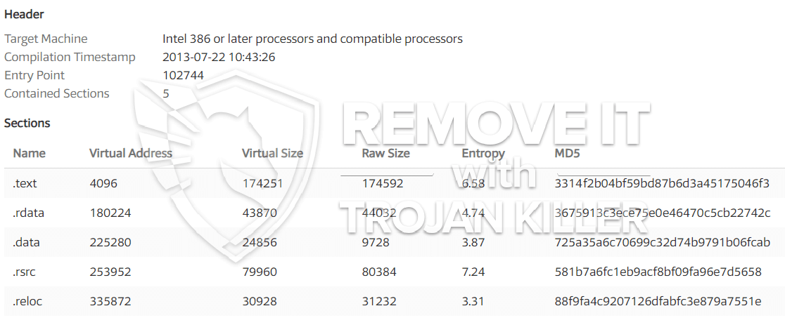 remove NVvsnc.exe virus