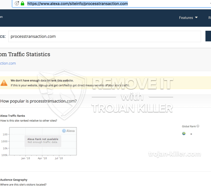 remove Processertransaction.com virus