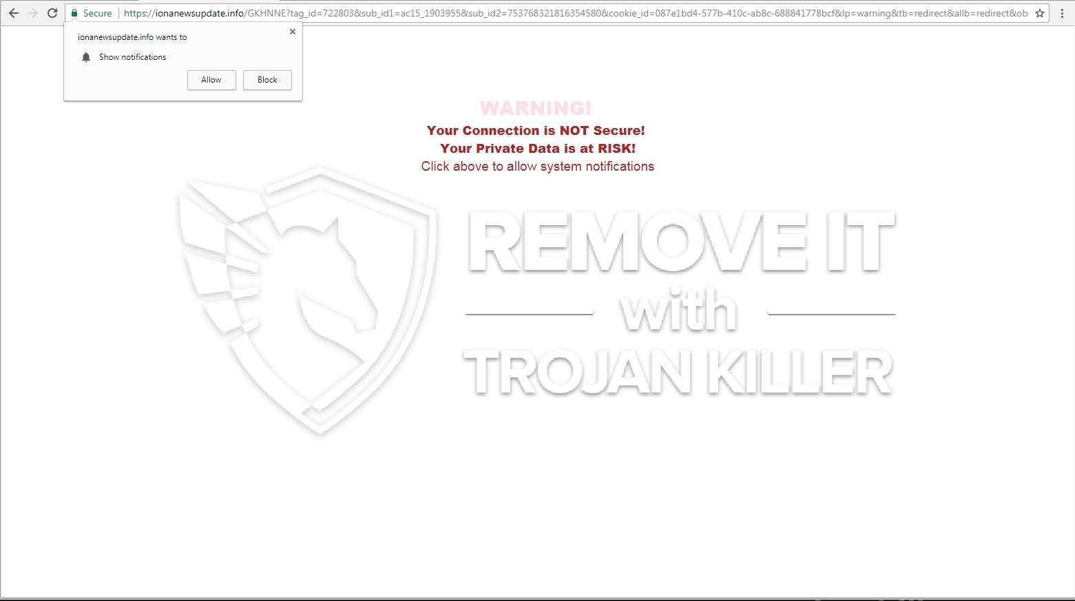 remove Ionanewsupdate.info virus