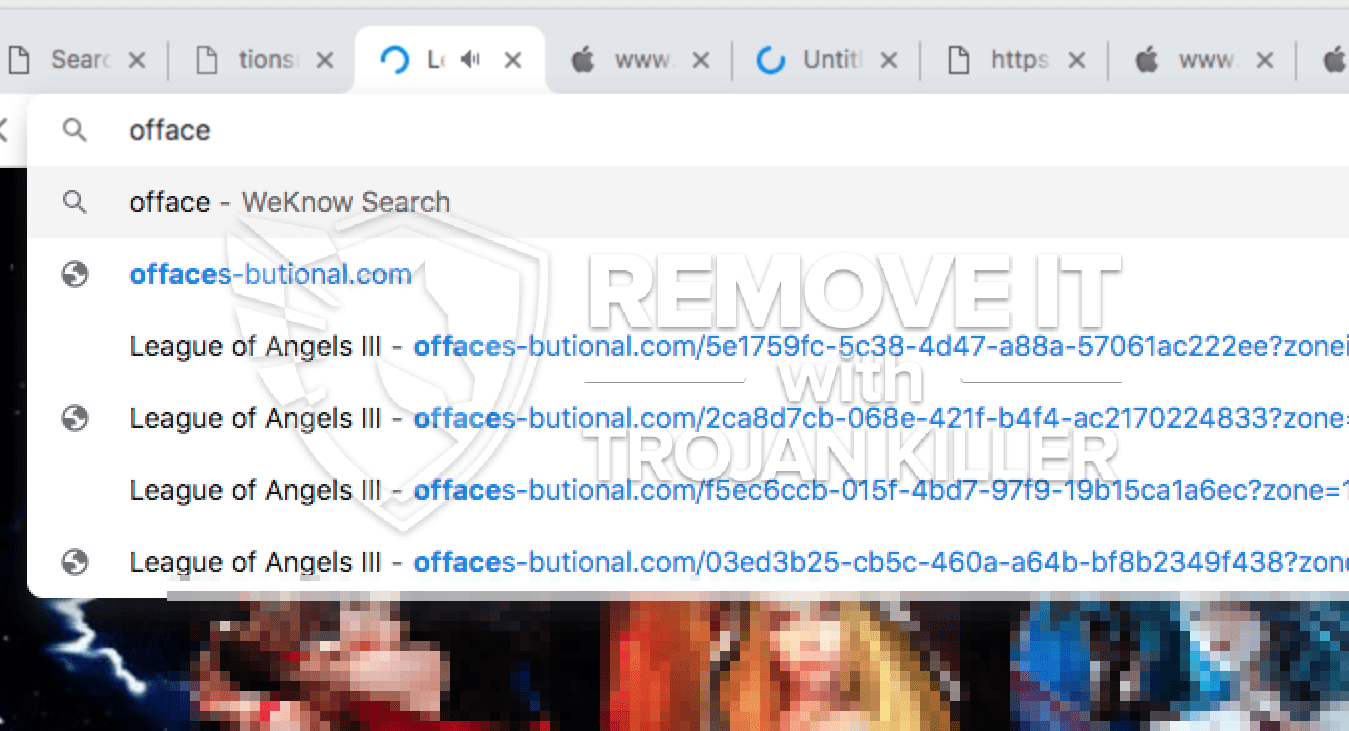 remove Offaces-butional.com virus