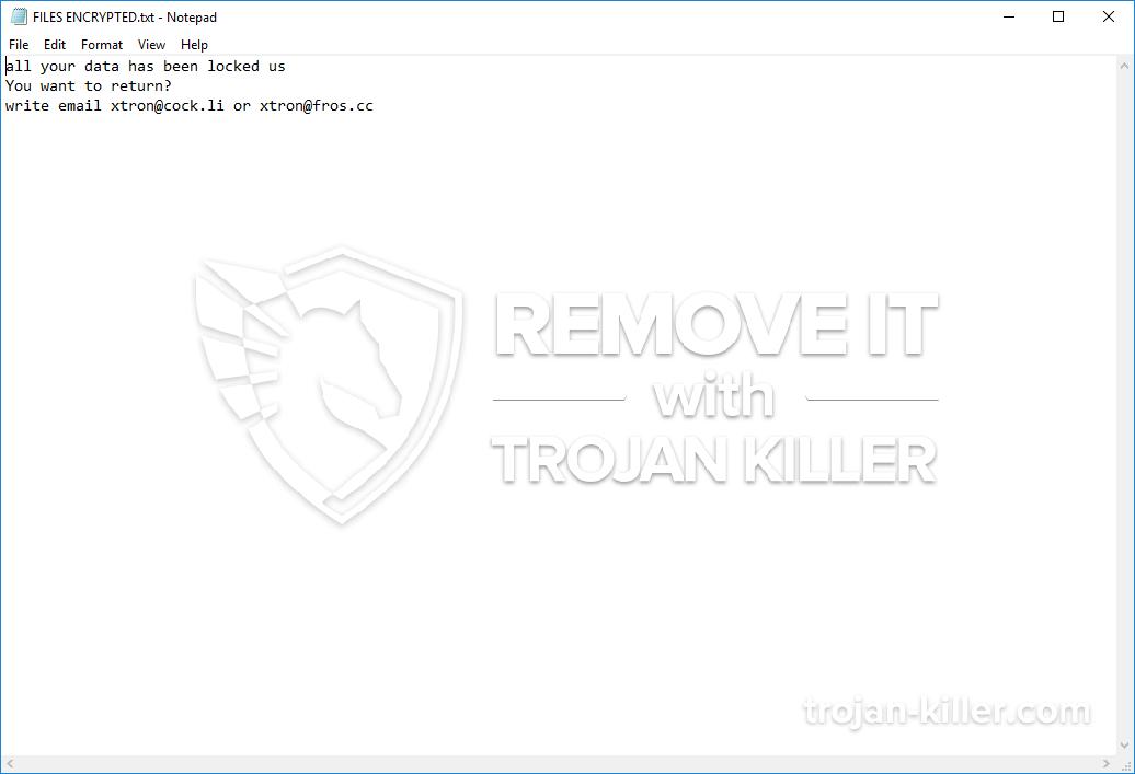 remove Dharma-tron virus