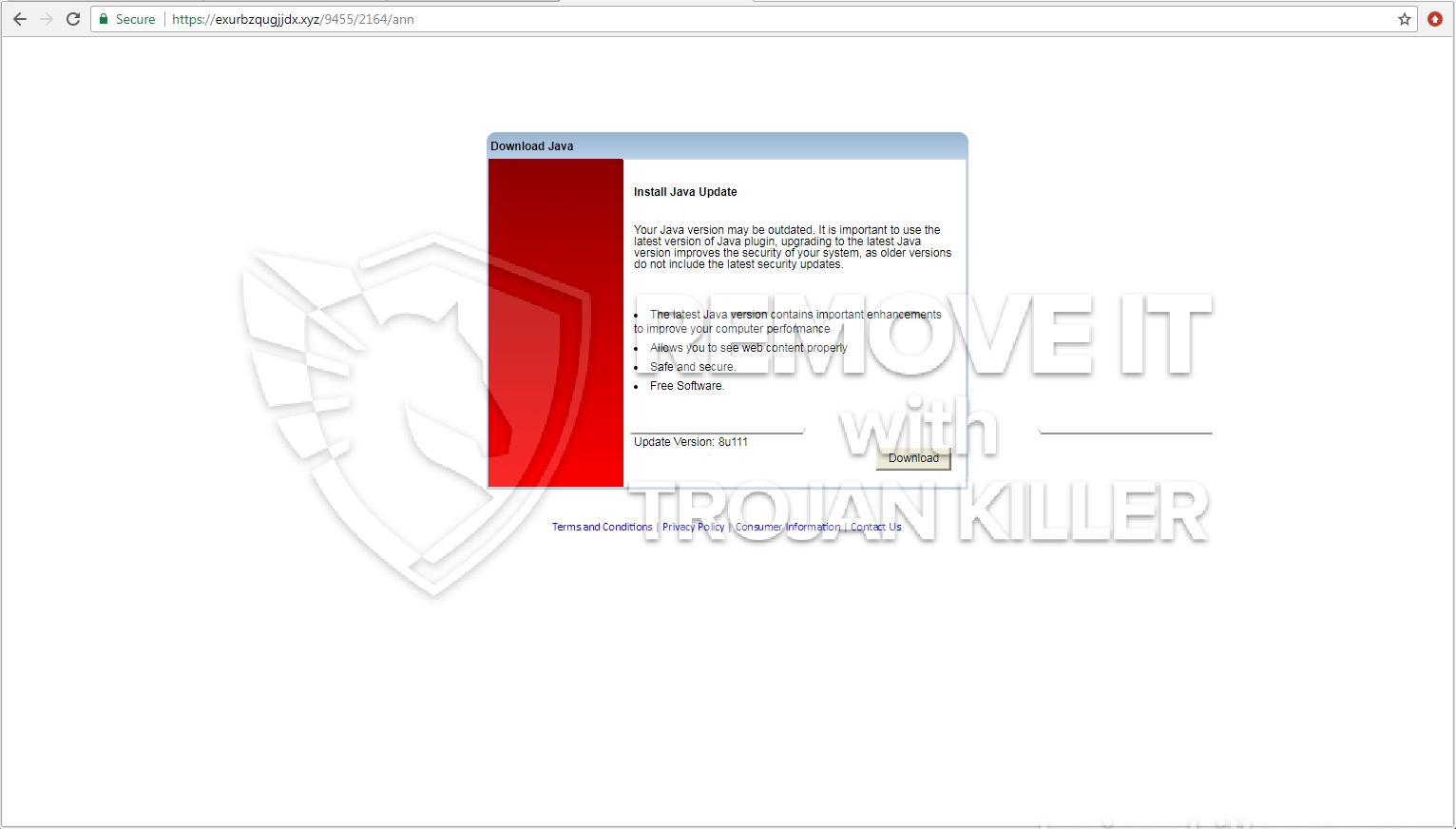 remove Exurbzqugjjdx.xyz virus
