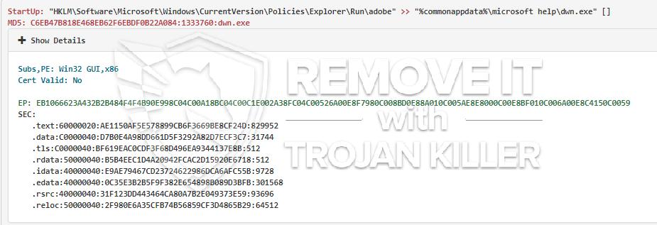 remove Dwn.exe virus