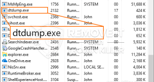 Dtdump.exe CPU Loss – How to Eliminate Dtdump.exe?