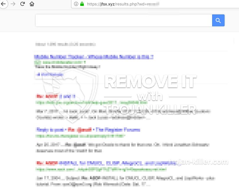 remove Jfsx.xyz virus