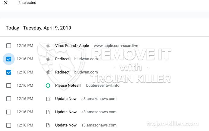 remove Bludwan.com virus