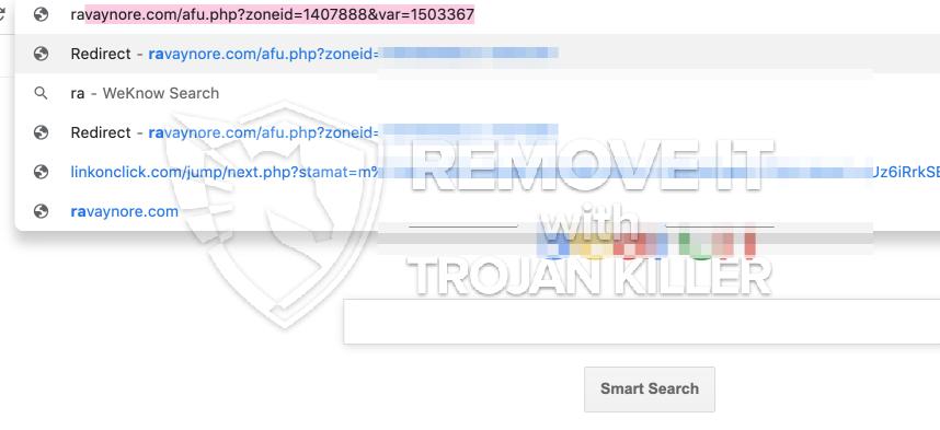 remove Ravaynore.com virus