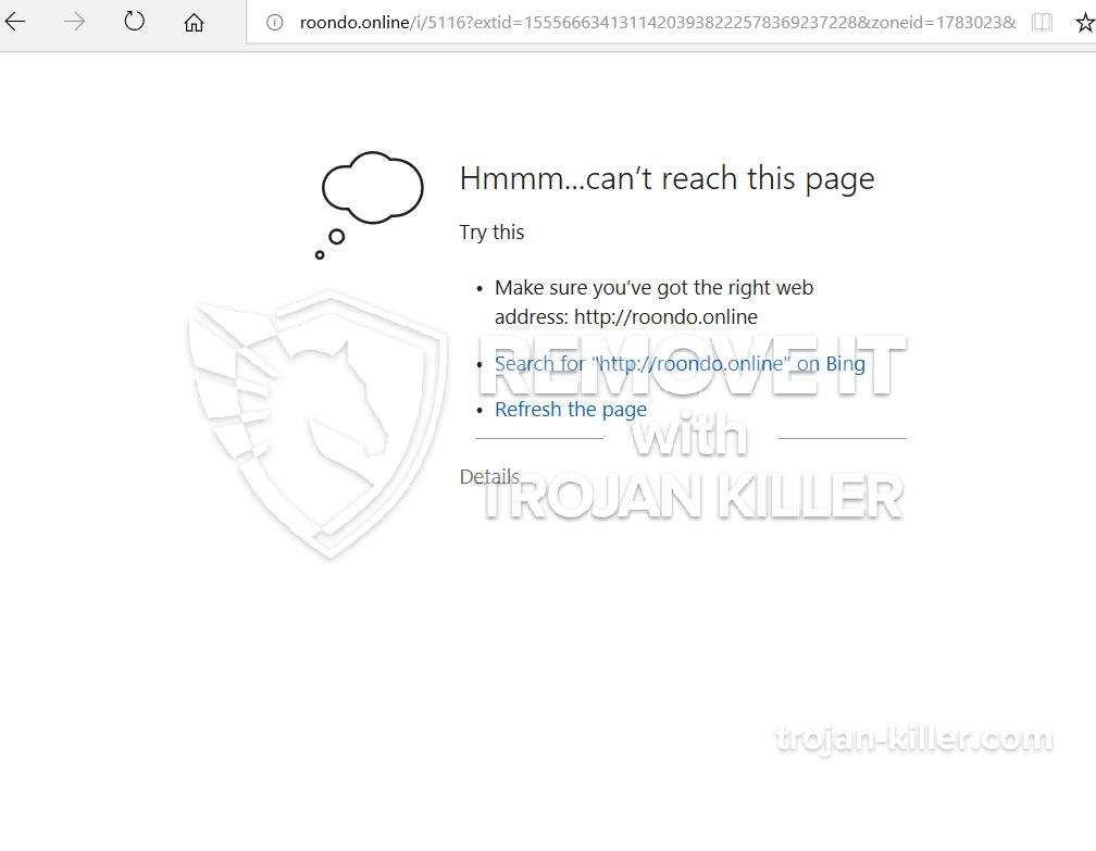 remove Roondo.online virus