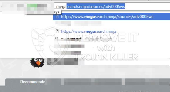 remove Megasearch.ninja virus