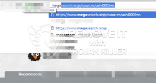 How to remove Megasearch.ninja redirect