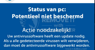 Uw systeem is mogelijk beschadigd! pop-ups: How can I remove Uw systeem is mogelijk beschadigd!?