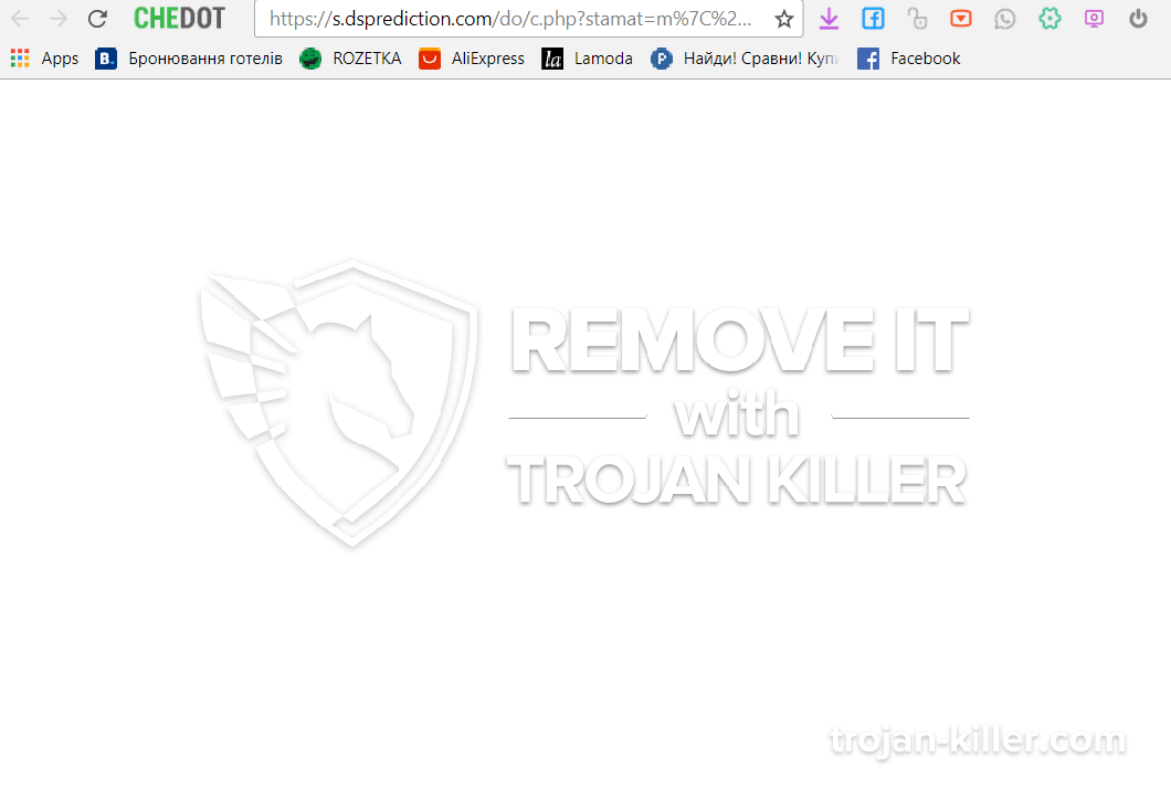 remove S.dsprediction.com virus